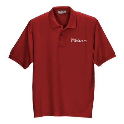 Crimson Soft Blend Polo - UPC 825008357495