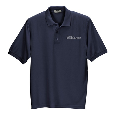 Navy Soft Blend Polo - $20.00