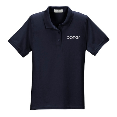 Navy Soft Blend Polo - UPC 825008358010