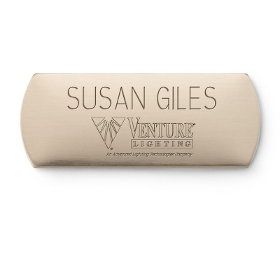 Personalized Brass Name Engraving