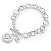 Heart Crystal Bracelet at Things Remembered
