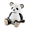 Miniature Panda Bear Secret Message Box at Things Remembered