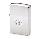Chrome Zippo® Lighter at Things Remembered