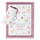 Butterflies & Flowers Quilt & Wall Hanging at Things Remembered