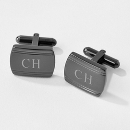 Gunmetal Cuff Links at Things Remembered
