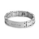 Gate Link ID Bracelet at Things Remembered