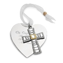 Make-A-Wish Cross Ornament at Things Remembered