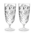 Waterford® Clear Light Footed Beverage Pair at Things Remembered