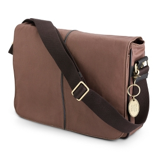Image of Brown Messenger Bag