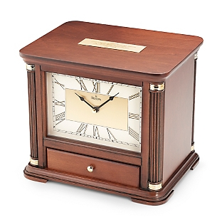 Engraved Jewelry Box Clock