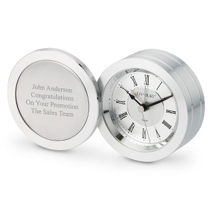 Image of Silver Coin Clock