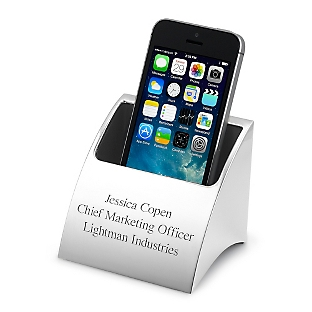 Smart Phone Charger Holder Engraved