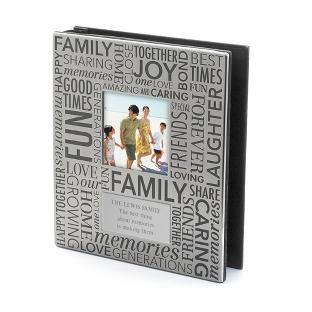 Image of Family Photo Debossed Album