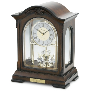 Image of Bulova Crystal Pendulum Clock