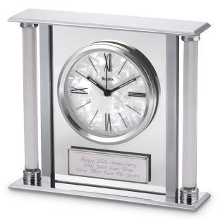 Image of Bulova Pearlized Dial Clock