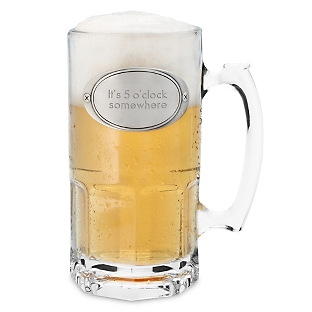 Engraved 34oz Moby Beer Mug
