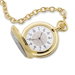 Image of Navy Coin Pocket Watch