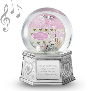 Image of Mother Musical Water Globe