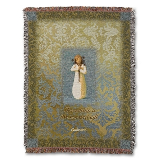 Image of Friendship Angel Throw