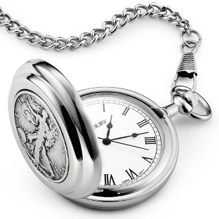 Image of Liberty Coin Pocket Watch