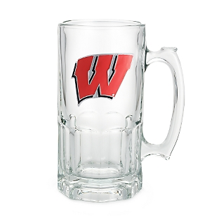 Image of University of Wisconsin 34oz Moby Beer Mug