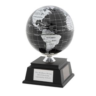 Image of Black Solar Globe