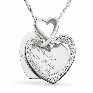 Image of Me To You Necklace with complimentary Filigree Keepsake Box