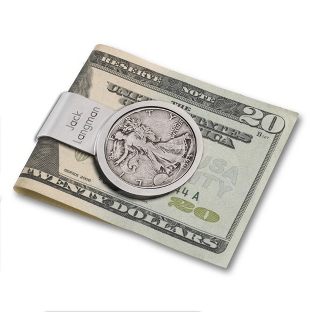 Image of Liberty Coin Money Clip