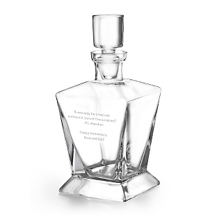 Image of Hand Blown Whiskey Decanter