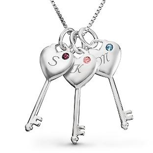 Personalized Birthstone Family Jewelry