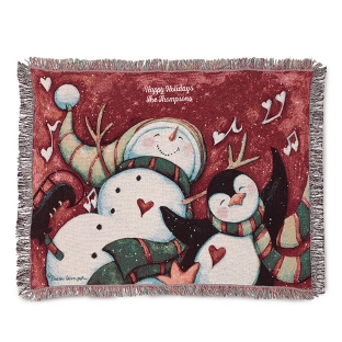 Image of Chilly Chums Throw