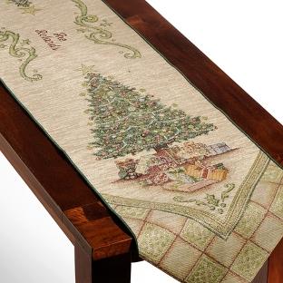 New 824 Elegant Christmas Table Runner