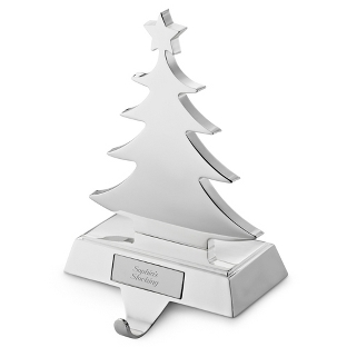 Image of Christmas Tree Stocking Holder