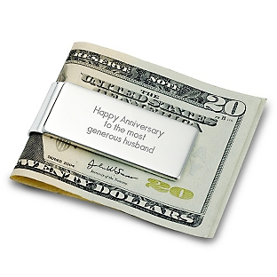 Image of Classically Silver Money Clip