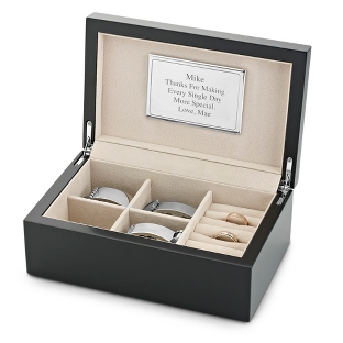 Image of Men's Black Jewelry Box