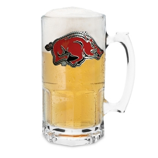 Image of University of Arkansas 34oz Moby Beer Mug