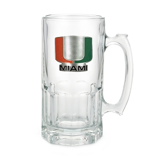 Image of University of Miami 34oz Moby Beer Mug