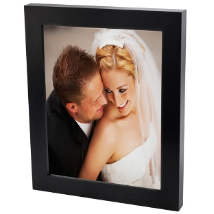 Image of 30x40 Color Photo to Canvas with Classic Black Frame