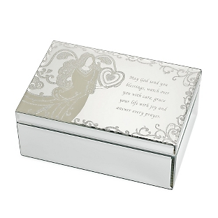 Personalized angel gifts from things remembered for Things remembered jewelry box