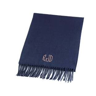 Image of Comfy Navy Scarf