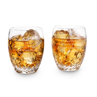 Image of Waterford Lismore Essence Double Old Fashioned Glasses