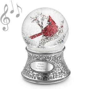 Image of Cardinal Musical Water Globe
