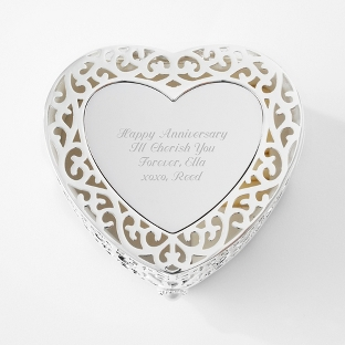 Image of Filigree Heart Box