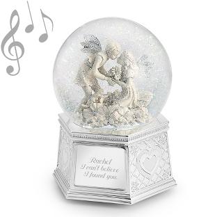 Image of Fairies of Love Musical Water Globe
