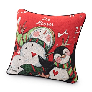 Image of Chilly Chums Pillow
