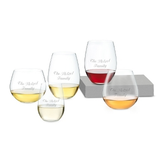 "Image of Riedel ""O"" Key to Wine Set of 5 Glasses"