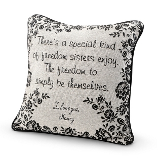 Image of Sister Special Bond Pillow