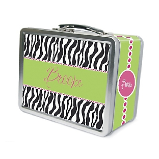 Image of Zebra Lunch Box