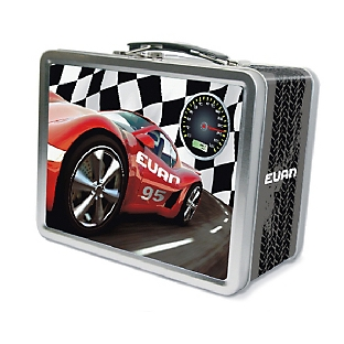 Image of Race Car Lunch Box