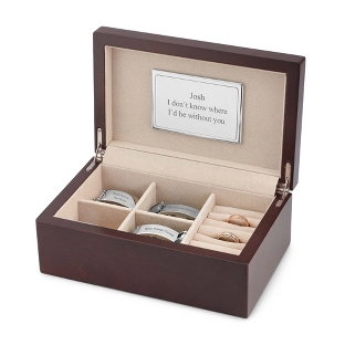 Image of Men's Brown Valet Box